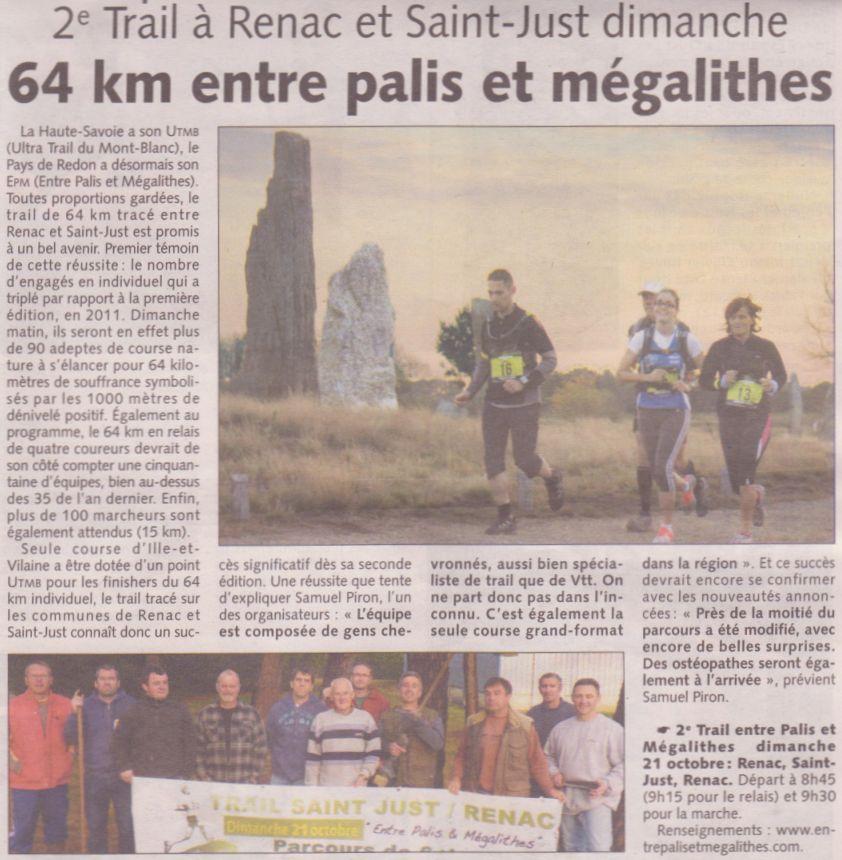 Les infos du Pays de Redon 17/10/2012